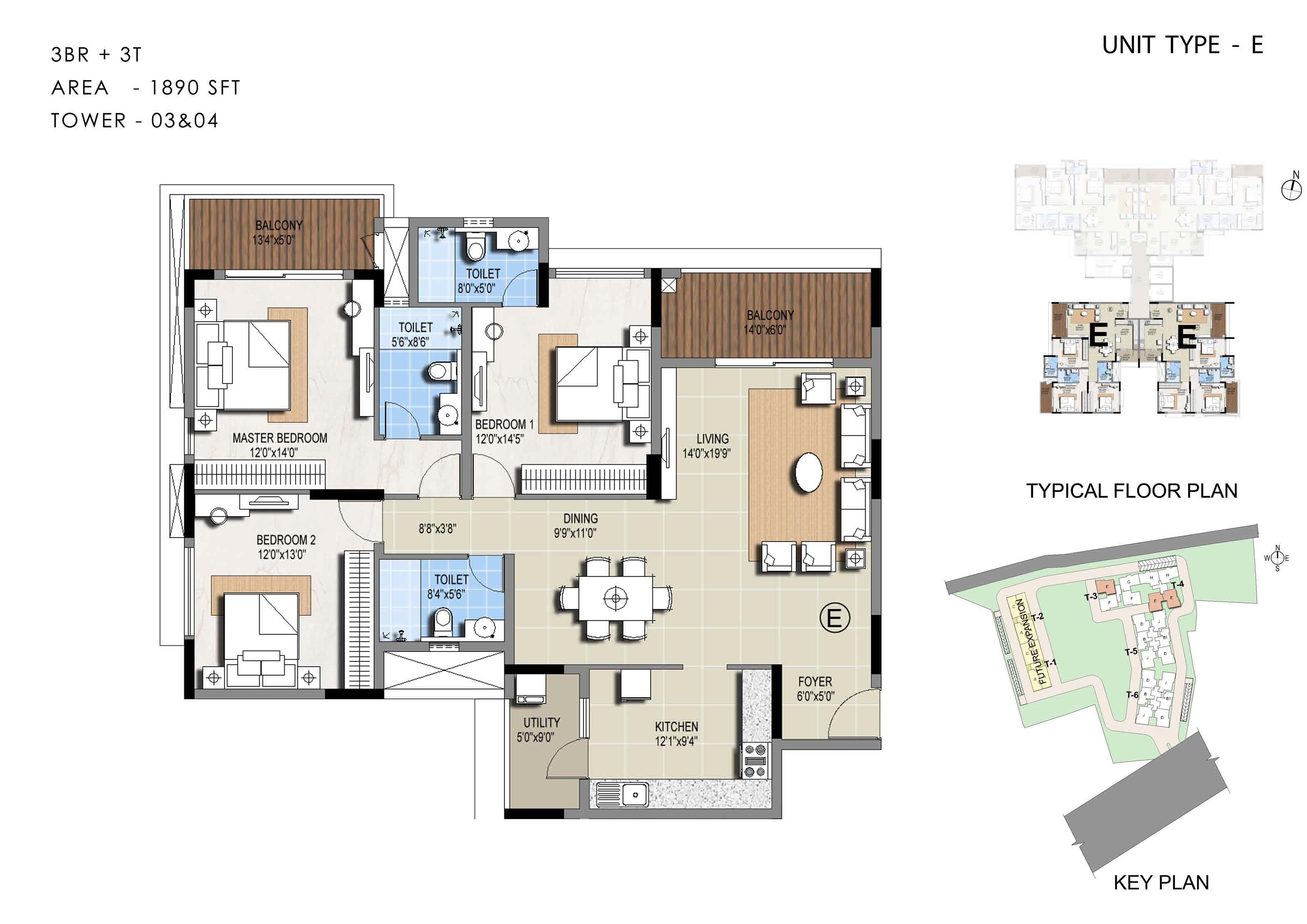 The Sterling West Palm Beach Floor Plans