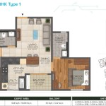 2bhk-1097(type1)sqft