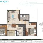 2bhk-1097(type2)sqft