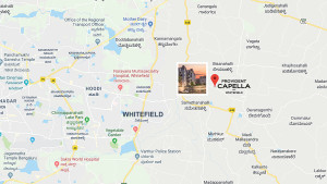 Provident Capella Location Map