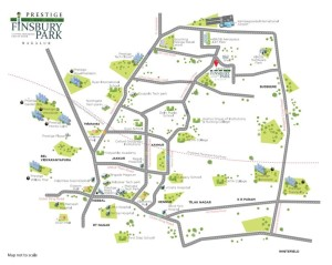 prestige-finsbury-park-location-map