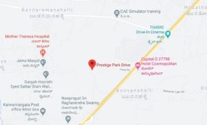 prestige park drive location-map